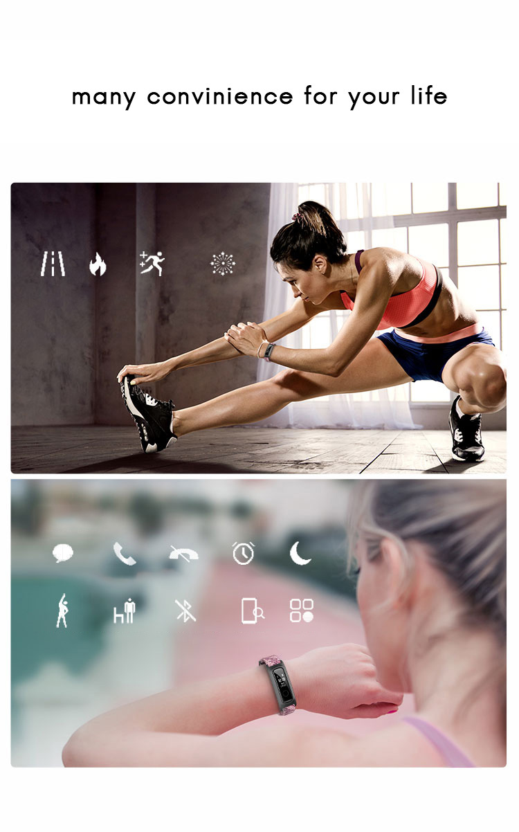 Original Huawei Honor Band 5 Basketball i Ver Smart Wristband Sports Running Waterproof 5ATM Sleep Nap Honor Band 5 Sports i (6)