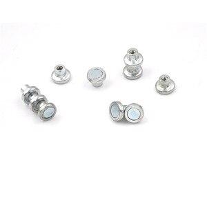 10PCS M3 H:8-10 Mm Magnetic Screw For Led Light, Magnet Kits For Lamp Fitting. for Led Ceiling Light Pcb Plate Fix On Walls