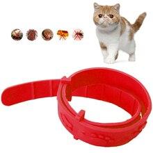 Collar ajustable para mascota perro gato AntiFlea Collar Anti pulga y garrapata Mite piojo mascota Collar proteger Collar de goma de mascotas