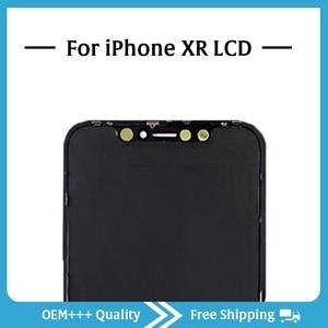 Image 5 - Sınıf AAA en kaliteli iPhone XR LCD orijinal hiçbir ölü piksel ekran 3D dokunmatik ekran montaj değiştirme ile Pantalla araçları