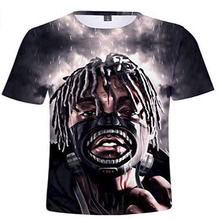 цены на XXXTentacion T Shirt Men Summer 3D Print Tee Shirts High Quality t-shirt Casual O-Neck tshirt Male  Women Couple Top Tees New  в интернет-магазинах