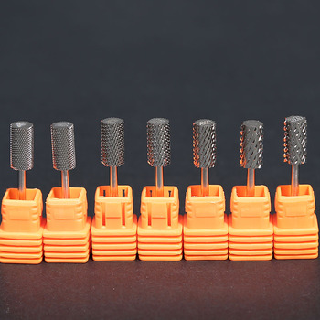 High Quality Carbide Nail Drill Bit Silver Electric File Bits for Machine
