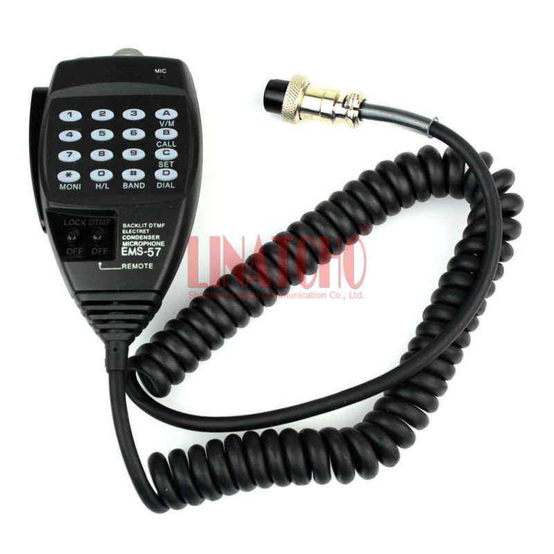 EMS-57 DTMF Mic Microphone For Alinco DR-03 DR-06 DR-135 DR-235 DR-435 DR-635 Car Radio