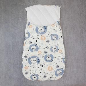 Image 4 - Saco de dormir do bebê cocoon para recém nascidos cobertor envelope sacos de dormir padrão dos desenhos animados novo bebê cocoon envelopes para recém nascidos