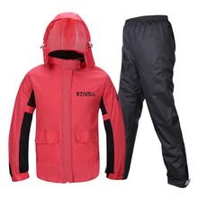 Raincoat Suit Adult Reflective Motorcycle Riding Waterproof Ultra Thin Outdoor Hiking Fishing Rainproof Protective Gear,H 018