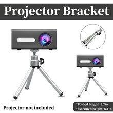 Portable Tripod Projector Brackets Adjustable Mini Projector Camera Phone Stand DVD Player Floor Holder Laptop Floor Stable Rack