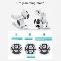 Electronic Toy Smart Dance Robot Dog Electronic Pet Toys With Music Light Voice Control Free Mode Sing Dance Smart Dog Robot