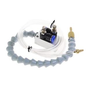 Image 3 - 안개 냉각수 윤활 스프레이 시스템 8mm 공기 파이프 CNC 선반 밀링 드릴 기계 금속 절단 조각 냉각 기계