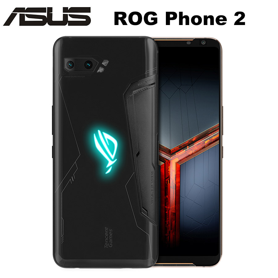 ASUS ROG Phone 2 ZS660KL Game Mobile Phone Dual SIM 8GB RAM 128GB ROM Snapdragon855+ OctaCore 6.59