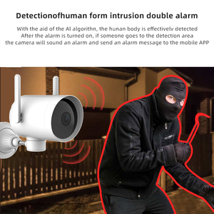 Image 5 - Original Smart Outdoor Camera Waterproof PTZ webcam 270 angle 1080P Dual antenna signal WIFI IP Cam Night vision Mi home APP