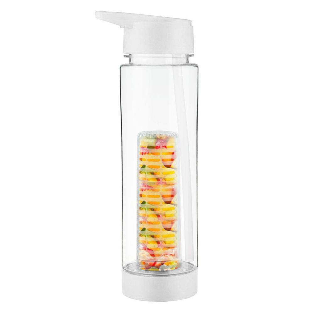 Botella con fruta uso infuser botella de agua deporte botella Sport 700ml