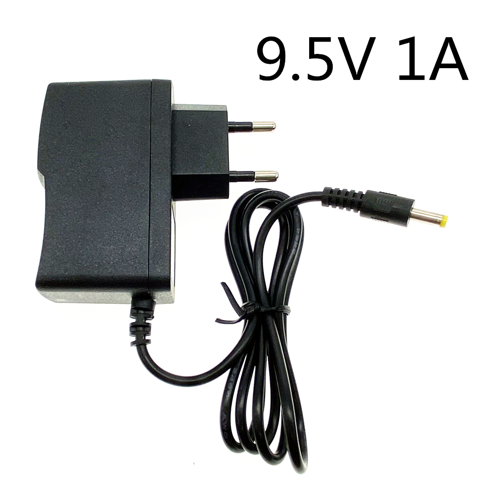 High quality DC 9.5V 1A IC program AC Adapter Charger For Casio Keyboard Pianos CTK-245 AD-E95100L ADE95100L 9.5V 1000MA