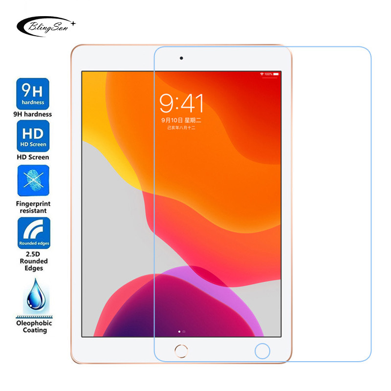 Tempered Glass for Apple iPad 10.2 2019 Screen Protector 0.3mm 9H HD Protective Glass Film for iPad 7 7th Generation A2200 A2198(China)