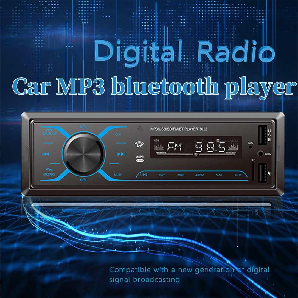 Universal Car Radio Touch bluetooth Autoradio Car Stereo Radio DAB DAB+ FM AM RDS USB Player led Light Car MP3 Multimedia Player