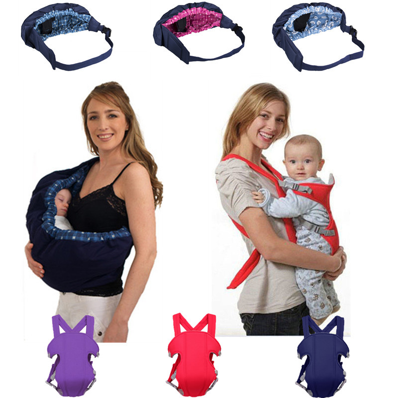 Pudcoco Child Sling baby Carrier Wrap Swaddling Kids Nursing Papoose Pouch Front Carry For Newborn Adjustable Baby Carrier