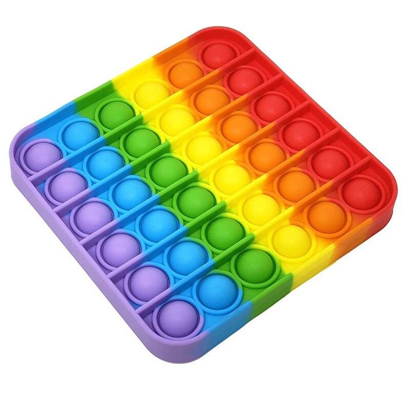 Push-Bubble-Toys Sensory Toys Autism It Fidget Decompression Squeeze Stress Reliever img2