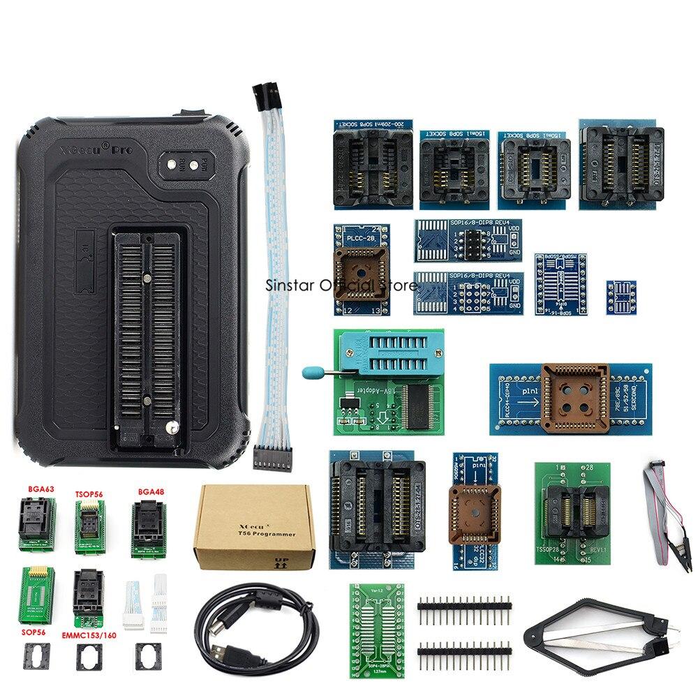 Image 5 - XGecu T56 programista 56 Pin sterowników ISP wsparcie 21000 + z 22 adapteryKalkulatory   -