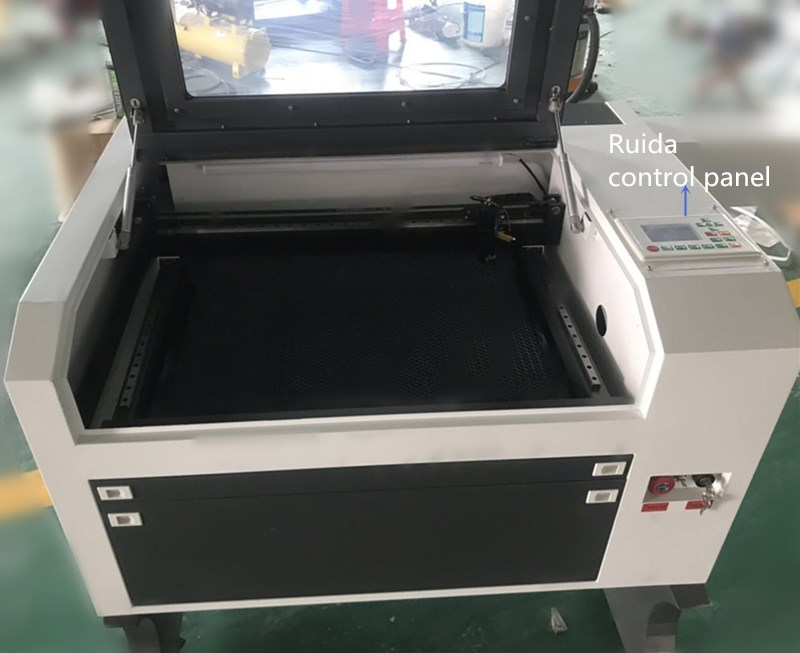 Industry Laser Equipment Cutting Machine With LED Light And Emergency Stop Switch