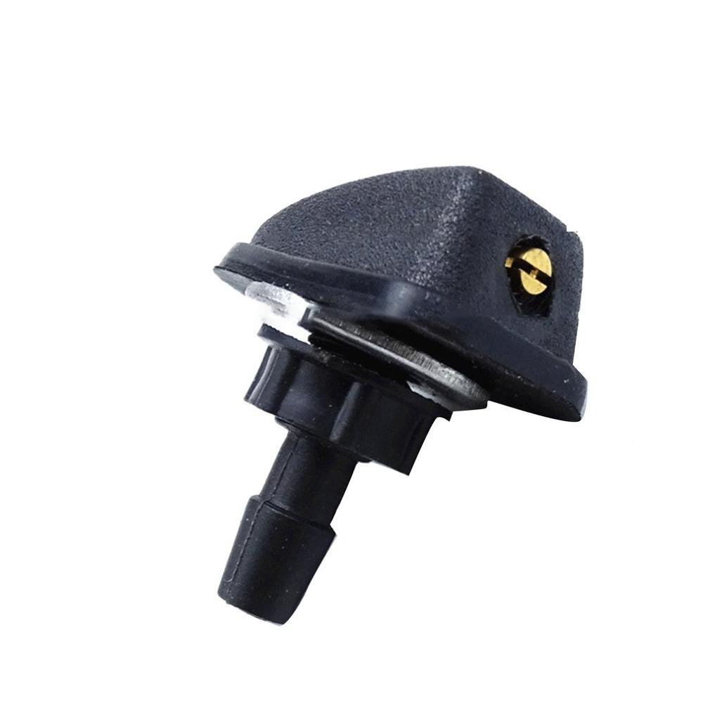 Araba evrensel cam yıkama yağmurlama kafası silecek Fan şekilli emzik kapağı su çıkış memesi ayarı