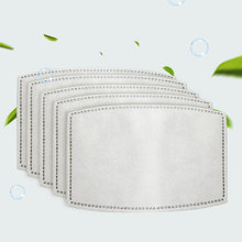 10/20/50/100pcs Face Mask 5 Layer Filter Insert Non woven Fabric Mouth Mask Filter