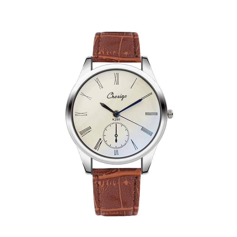 OTOKY luxury watch Fashion couple Watches Analog Casual clock lovers Leather Strap WristWatch Valentine's Day original designer