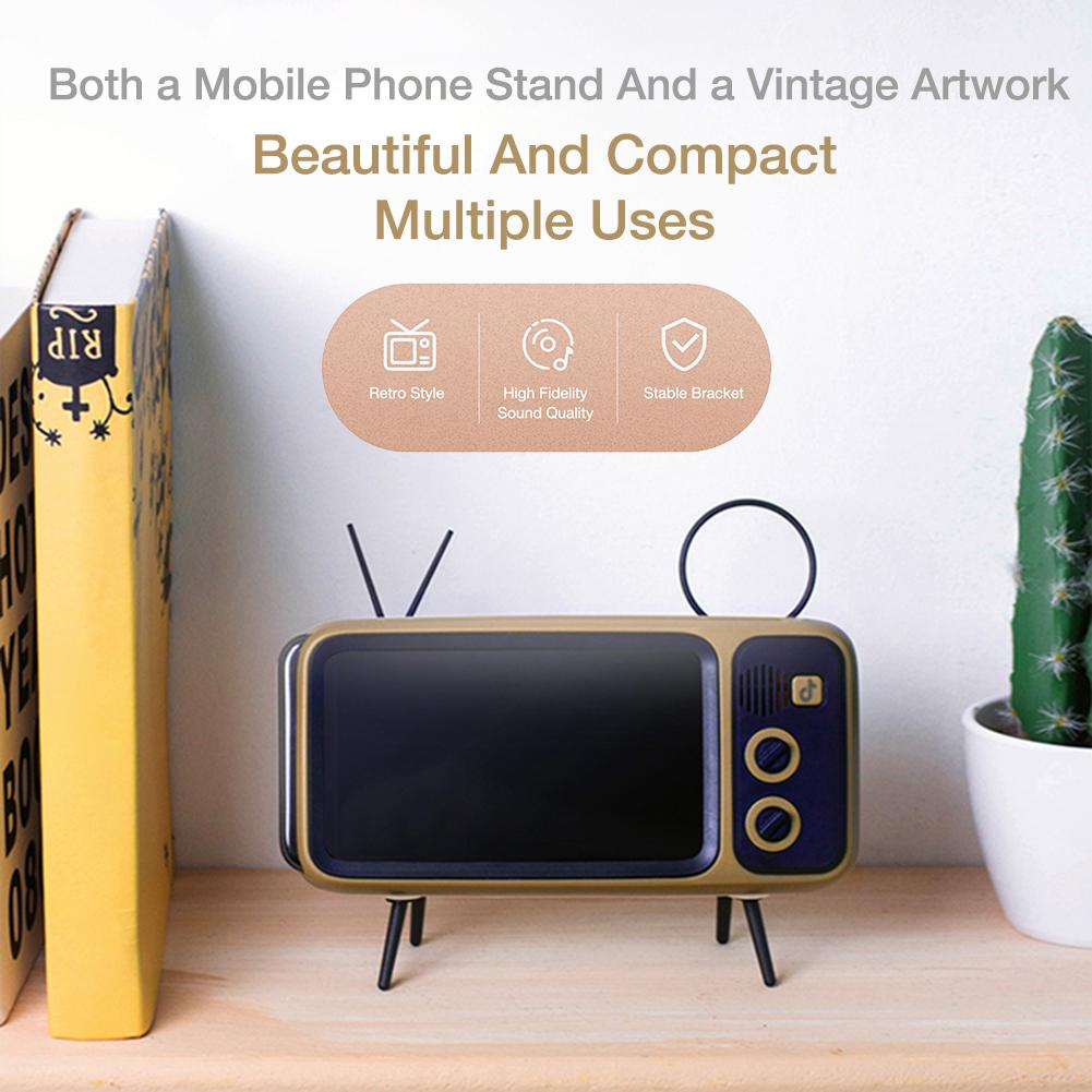 Retro TV Mobile Phone Holder  5