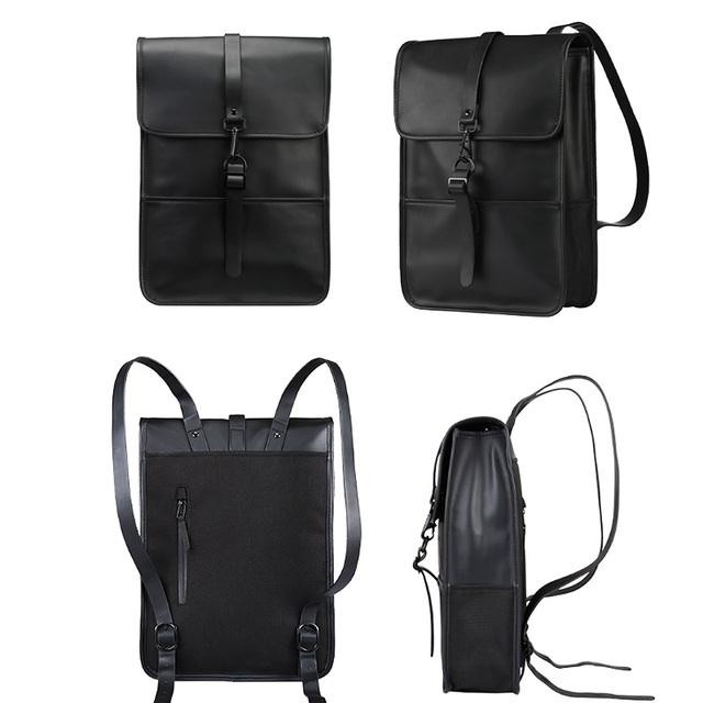 PU Leather Laptop Bag 15.6 Inch For Macbook Pro 15 Case Laptop Backpack Women Waterproof Backpack Women For Macbook Pro 15