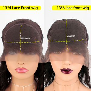 Image 5 - Burgundy 99J 13*6 Deep Part Lace Front Human Hair Wigs With Baby Hair Straight Pre Plucked Hairline Wig Brazilian Remy Wigs