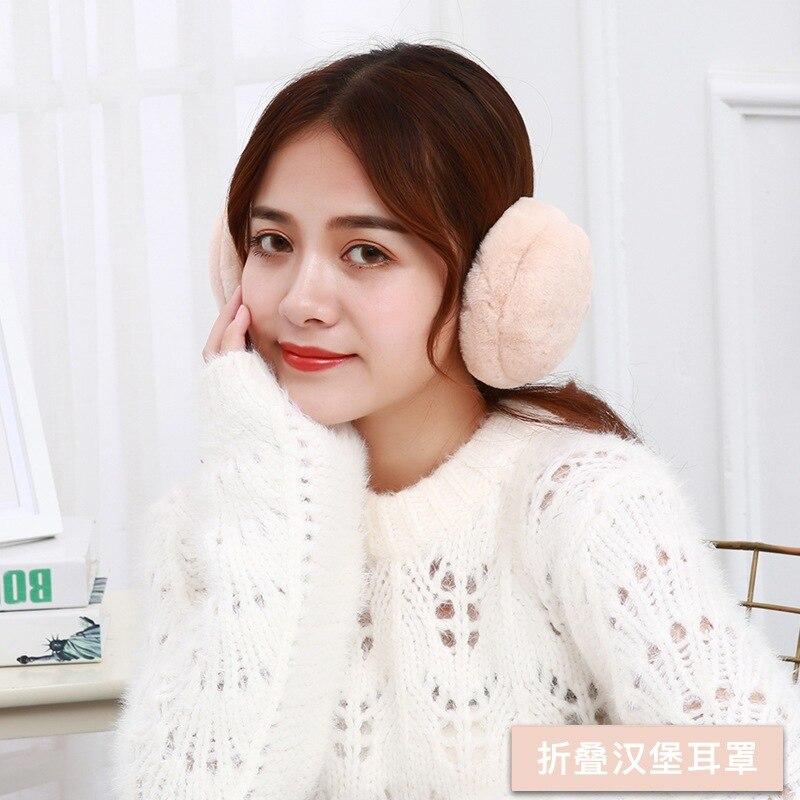 New Style Winter Warm Earmuffs Ear Warmer Fashion Women Girls Ear Muffs Earlap Casual Earmuffs
