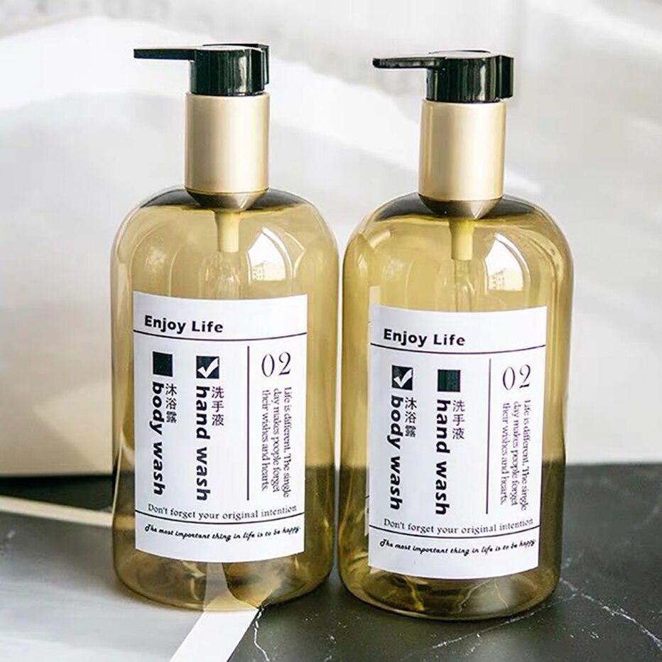 H071845264b5c40be868439ef71a93927o Soap Dispenser Bottle Kitchen Hand Sanitizer Bottle Cosmetics Shampoo Body Wash Lotion Bottle Outdoor Travel Tools
