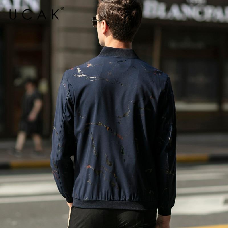 UCAK Brand Zipper Jackets Mens Clothing Casual Chaquetas Hombre Streetwear Clothes 2020 Spring New Arrival Jacket For Men U8063
