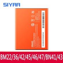 Оригинальный BM45 BM46 BM42 BN41 BN43 BM47 BM22 BM36 Батарея для Xiaomi Redmi Note 4 4X3 2 Redmi 3 3S 4X Mi5 Mi5S батареи