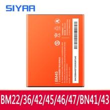 オリジナルBM45 BM46 BM42 BN41 BN43 BM47 BM22 BM36 xiaomi redmi注4 4X 3 2 redmi 3 3s 4X Mi5 Mi5S電池