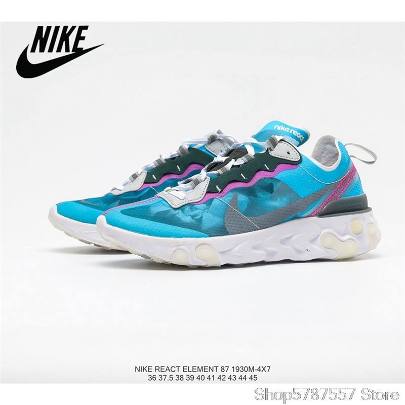 Nike Upcoming React Element 87 reactive element translucent gauze <font><b>Women's</b></font> jogging <font><b>shoes</b></font> size36-39 image
