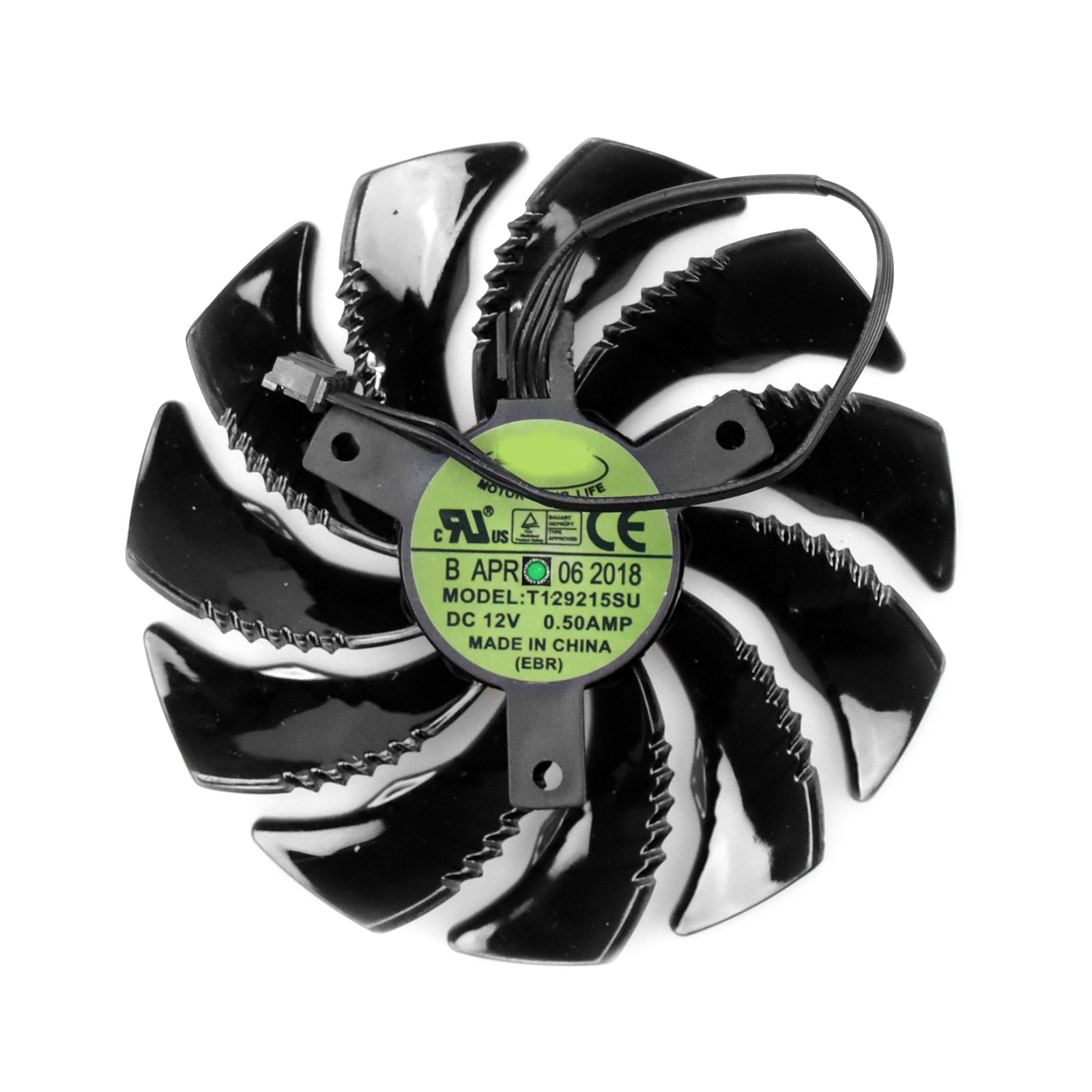 Processor Cooler 85mm For Gigabyte GTX1080 1070 1060 Mini ITX Graphics Card Cooling Fan T129215SU image