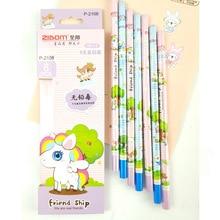 """72 шт., набор карандаши """"каваий"""", модные деревянные карандаши для школьных принадлежностей, милые канцелярские принадлежности, Детские карандаши, школьные призы, детские письма"""