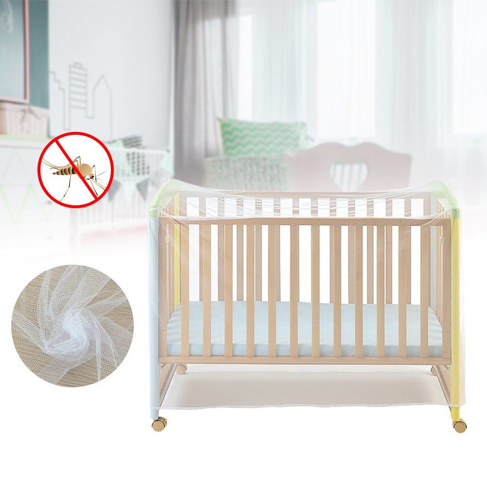 Mosquito Net Meshs Dome Curtain Net for Toddler Crib Cot Canopy Baby Bed S