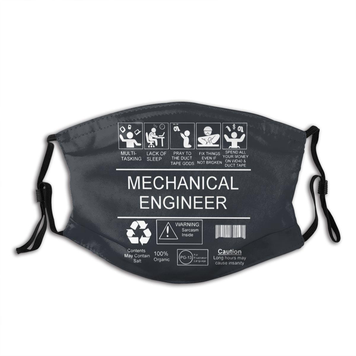 Mascarilla facial reutilizable Unisex de ingeniería mecánica con filtro de fijación de coche máscara respiratoria antipolvo mufla de boca 10/100/200 Uds mascarillas bucales 3 capas filtro seguro mascarilla facial anticontaminación mascarillas desechables no tejidas máscara protectora transpirable
