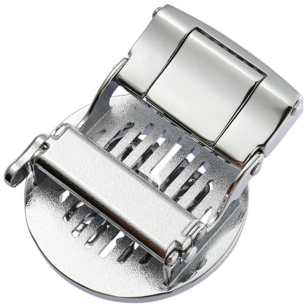 Новая натуральная Мужская поясная головка, пряжка для ремня, пояс для отдыха головы бизнес аксессуары Автоматическая пряжка 3,5 см мужские ремни LY135-22431