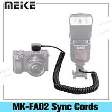 Meike mk fa02 ttl мульти интерфейс Горячий башмак кабель для