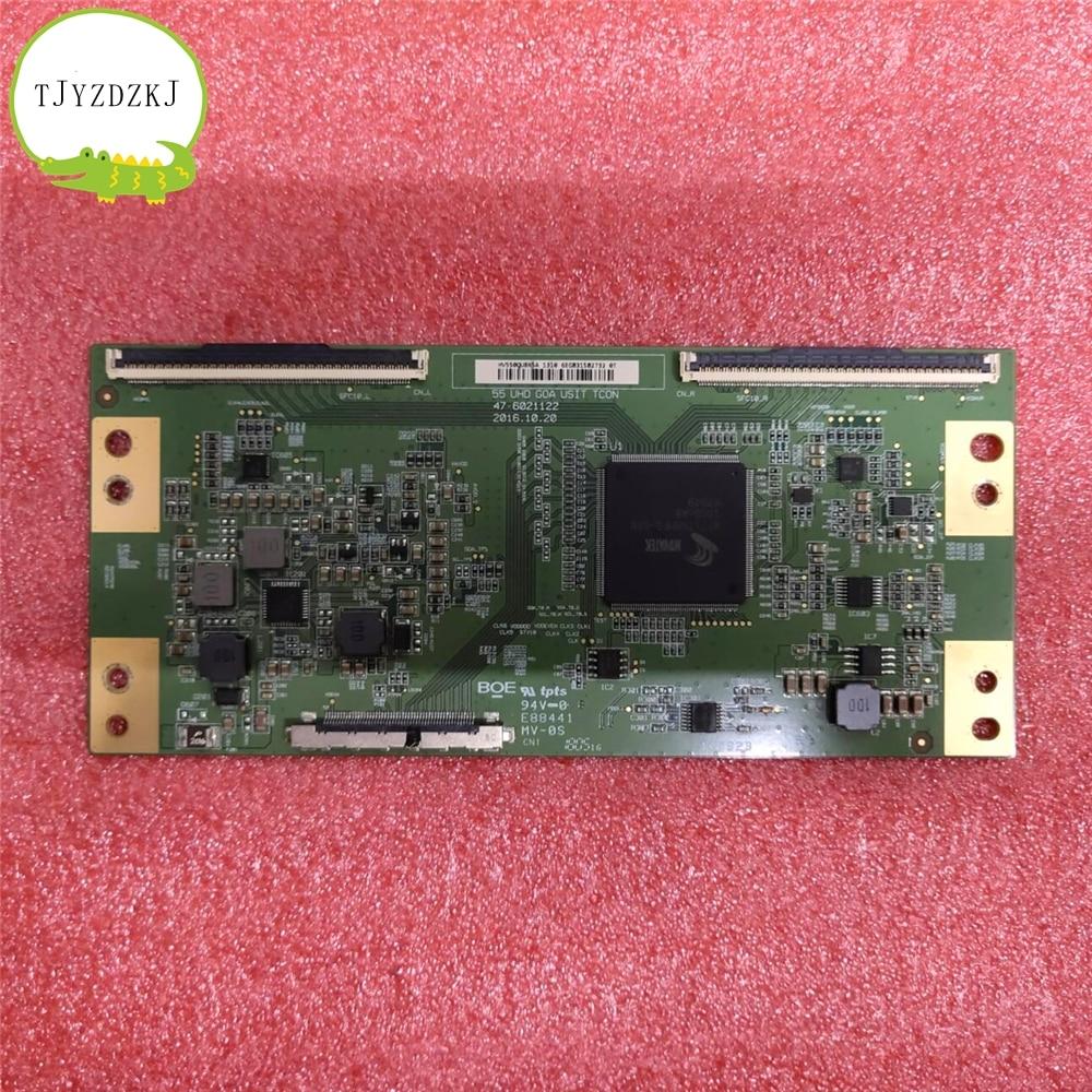 Good Test Original T-CON Logic Board  For SAMSUNG UA55MUF30ZJXXZ UA55MUF30ZJ HV550QUBN5A 47-6021122 Screen BOEI550WQ1