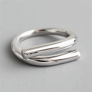 Foxanry Minimalist 925 Sterling Silver snake Rings for Women Engagement Personality Jewelry New Fashion Accessories Gift