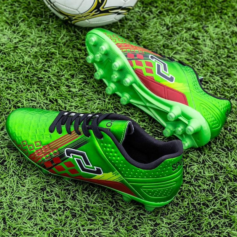 Мужские футбольные бутсы, уличные низкие кроссовки, мужская Детская футбольная обувь, футбольные бутсы, спортивная обувь AG Fustal, мужские кро...