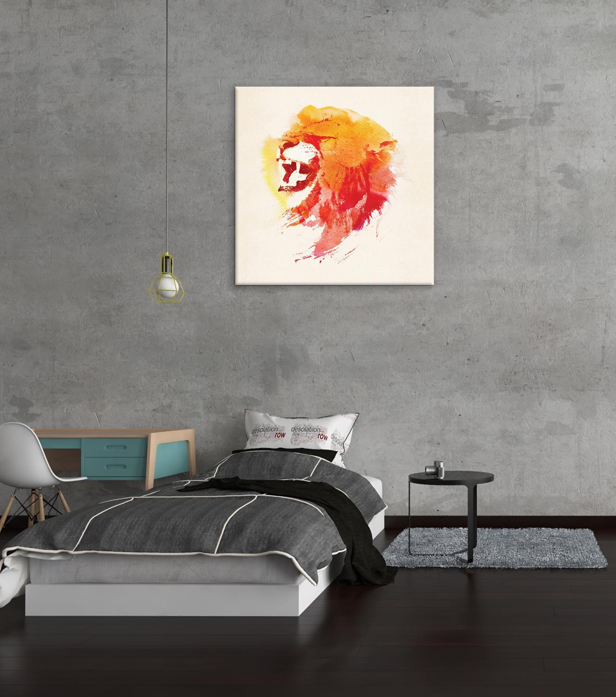 Abstrakte Bär mit Berg Wand Kunst Dekor Leinwand Malerei Küche Drucke Bilder für Haus Wohnzimmer Esszimmer - 4