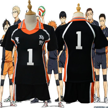 9 Styles Haikyuu Cosplay Costume Karasuno High School Volleyball Club Hinata Shyouyou Sportswear Jerseys Uniform 1