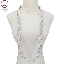 Choker Necklaces Clothes Chain UKEBAY Gothic Metal-Jewelry Handmade Women for Wedding-Party-Gift