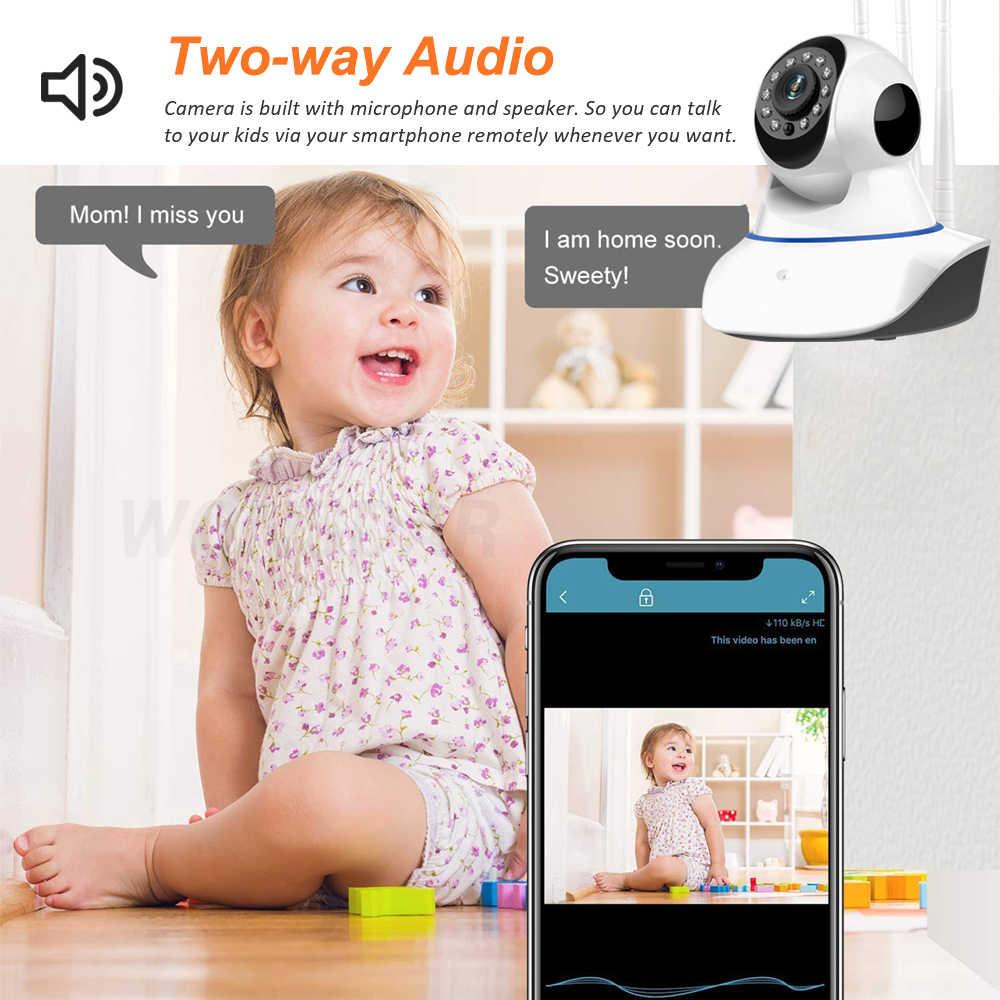 Wonsdar Yooseeไร้สายIPกล้อง1080P 1536Pการรักษาความปลอดภัยภายในบ้าน2 Way Audio Pan Tiltกล้องวงจรปิดWiFiกล้องbaby Monitorวิดีโอ