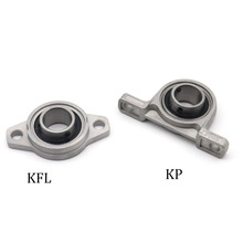 Zinc Alloy Diameter 8mm To 30mm Bore Ball Bearing Pillow Block Mounted Support Kfl08 Kfl000 Kfl001 Kp08 Kp000 Kp001 Kp002