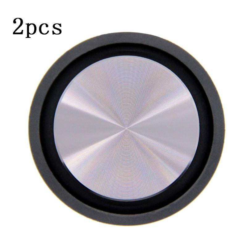 2PCS Bass Radiator Speaker Diaphragm Auxiliary Vibration Passive Radiator Woofer C90F