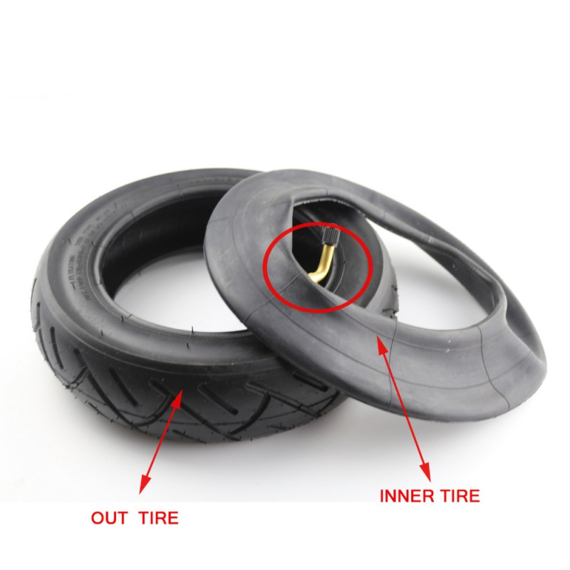 Durable 10 Inches Electric Scooter 10*2.5 Pneumatic Inner Tube/Cover Tyre Accessories Fits Electric Scooter Balance Bike1